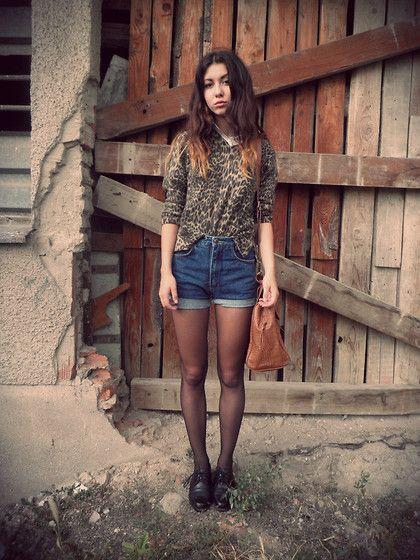 Leopard (by Wendy Ká) http://lookbook.nu/look/4053812-Leopard