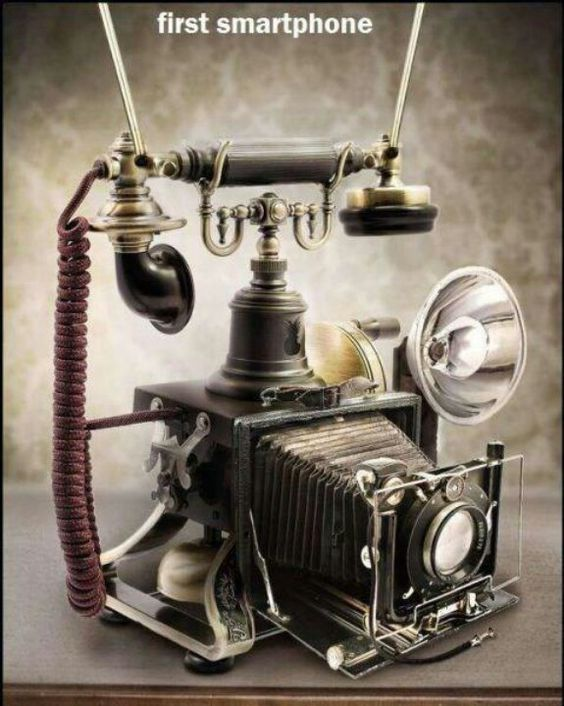 First smartphone