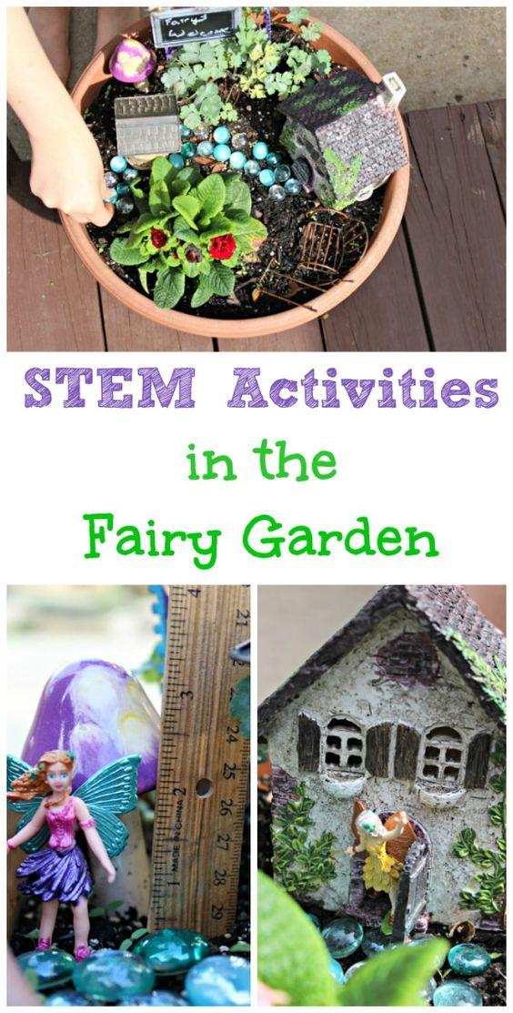 DIY Fairy Garden Ideas & STEM Activities For Kids