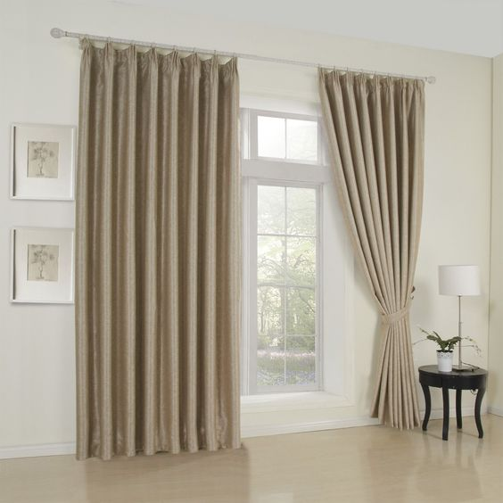 Floral Neoclassical Brown Blackout Curtains #curtains #decor ...