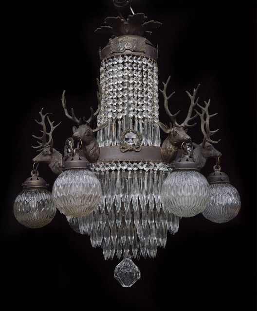 Crystal Laurel 6 Light Crystal Chandelier