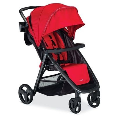 The Combi Fold N Go™ Stroller provides ultimate convenience while encompassing a lightweight, compact, and portable design.