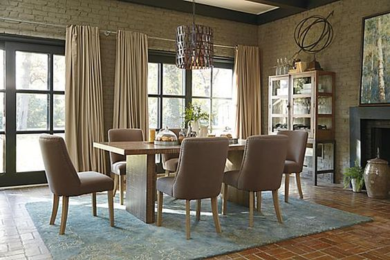 The Fanzere Dining Room Table From Ashley Furniture Homestore Home Interiors