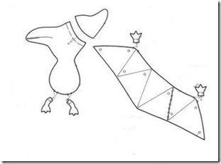 The Laury chorradikas Patterns dinosaurs fabric, felt, plush ...