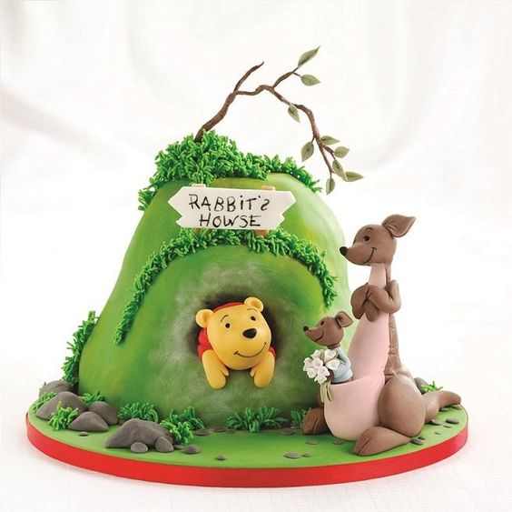 chat disney cakes and sweets