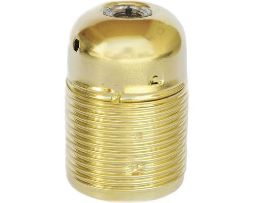 Lampenfassung E27 Metall Langgewinde Messing Bei Hornbach Kaufen Messing Lampe Metall