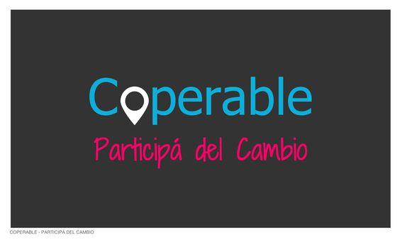 www.coperable.org  Participá del cambio