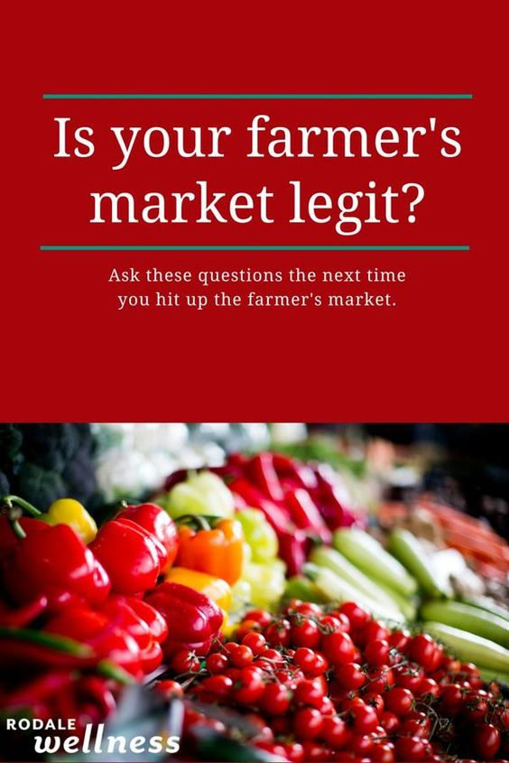 Ask these questions the next time you hit up the farmer's market.