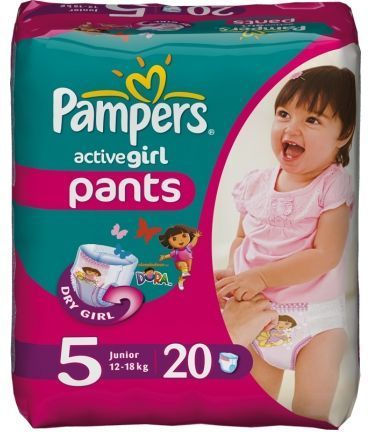 I want girl pampers ;-(