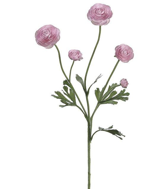 28'' Lavendar Ranunculus Spray