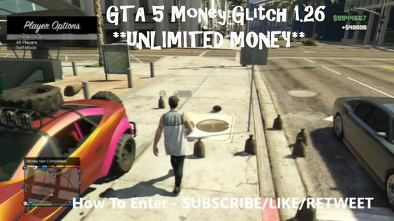 GTA 5 Money Glitch 1.26 **UNLIMITED MONEY** (GTA 5 Money Glitch 1.26)