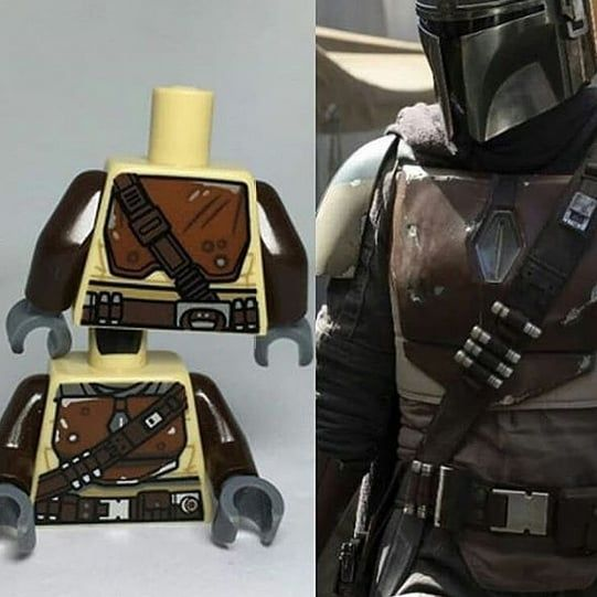 The Mandalorian Lego Leak I Am More Excited For This Show Than I Am Ix H T Lee Pylong Starwars Lego Starwarsle Lego Mandalorian Mandalorian Lego Star Wars