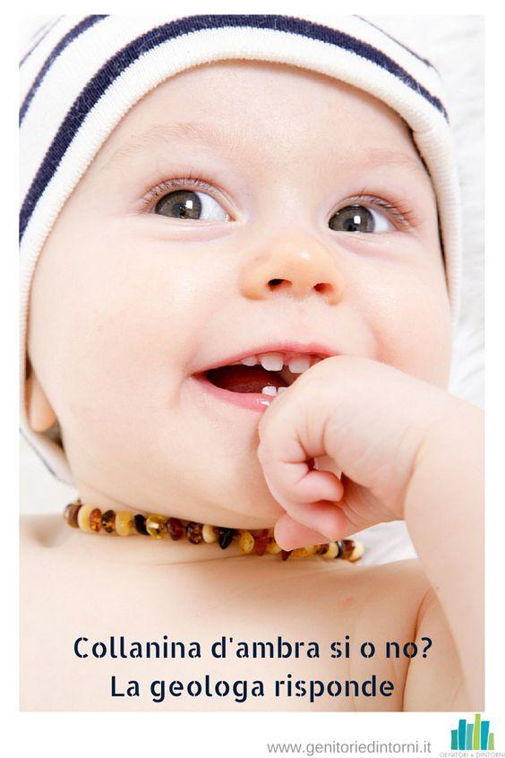 collana d'ambra: sfatiamo il mito che aiuti nella dentizione