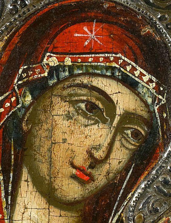 La Virgen.
