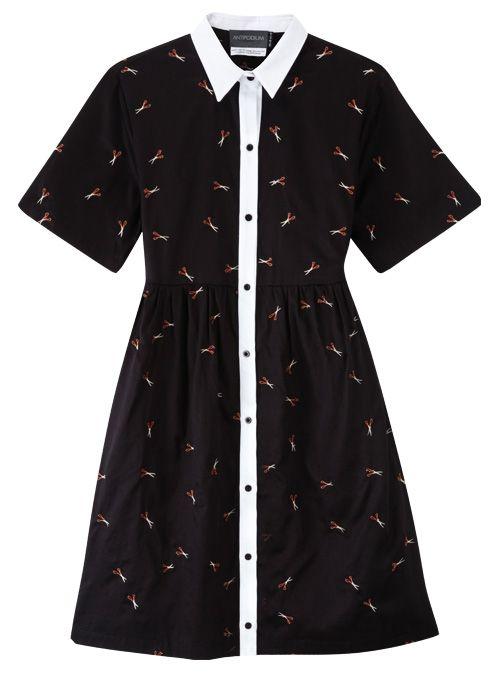 Scissor Sister Dress in Black