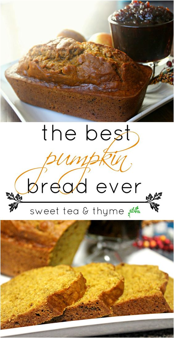 This pumpkin bread is the epitome of the fall season. It's full of that…