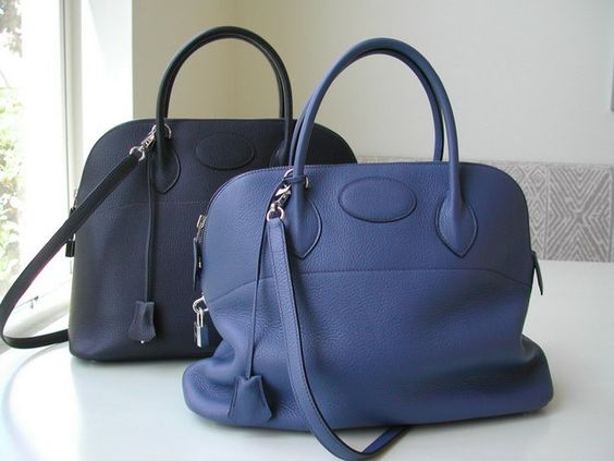 replica hermes birkin bags china - Hermes Bolide Archive picture for size comparison: the Indigo 37 ...