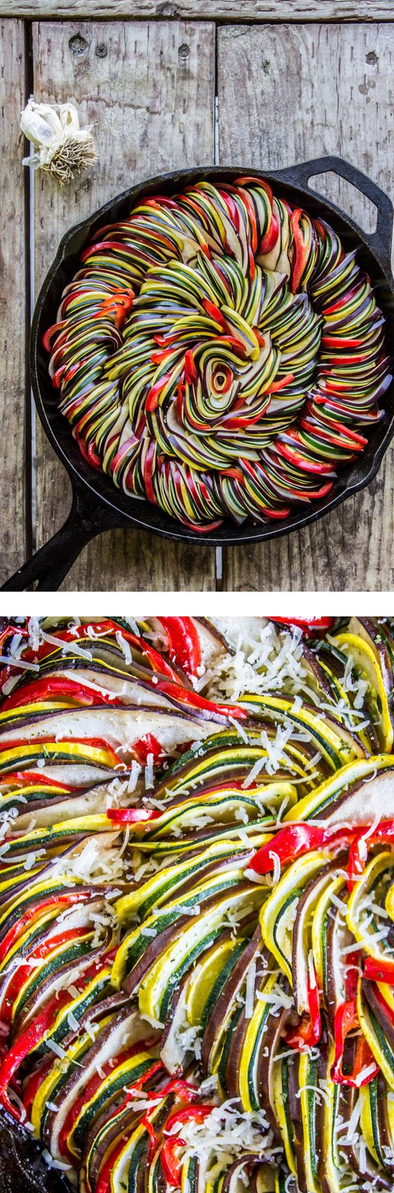 Roasted Garlic Ratatouille by thefoodcharlatan #Ratatouille #Garlic