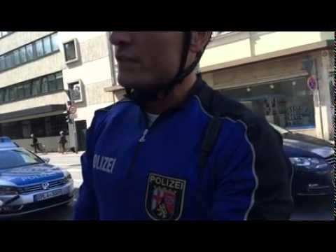 Polizei Gewalt in Deutschland!! (Trier)