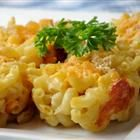 mac and cheese muffin