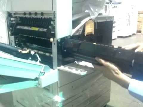 Xerox 5225 5230 Drum Removal And Install
