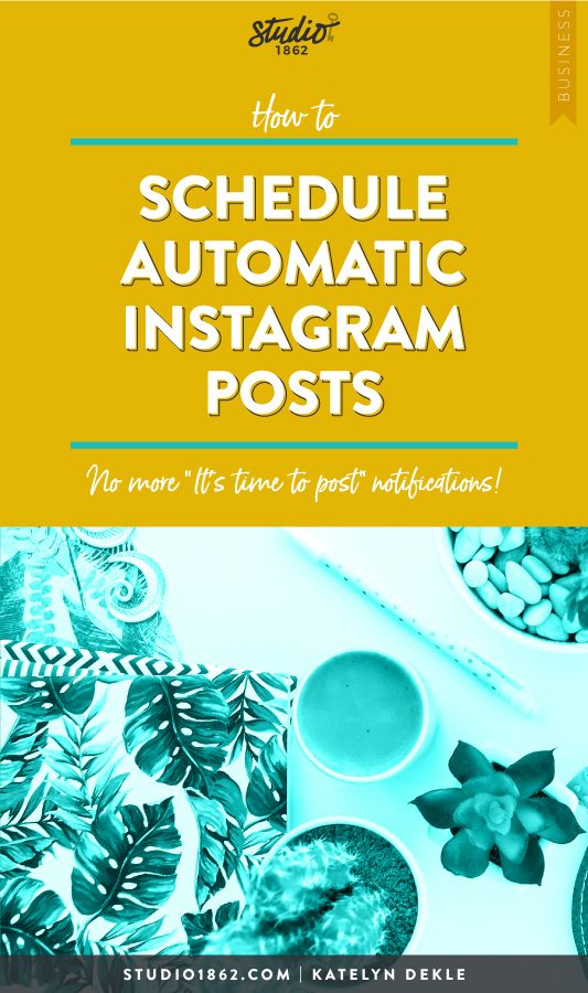 How To Schedule Automatic Instagram Posts Squarespace Website Design Instagram Posts Website Design