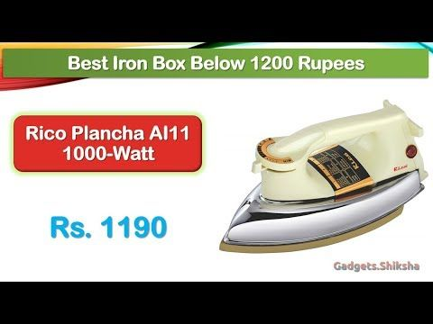 Best Heavyweight Iron Below 1200 Rupees ह द म Rico