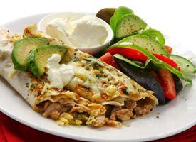 Chicken Enchiladas with Fresh Tomatillo Salsa   Latina