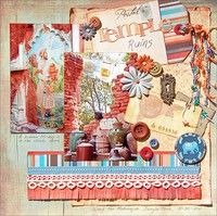 A Project by Madeline from our Scrapbooking Gallery originally submitted 06/27/11 at 12:06 PM