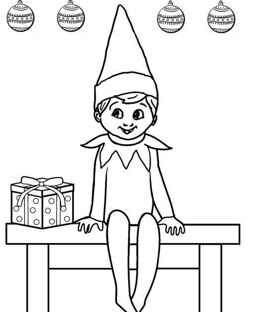 Elf On The Shelf Coloring Page Elegant Free Printable Elf Coloring Elf In 2020 Printable Christmas Coloring Pages Christmas Coloring Sheets Christmas Coloring Pages