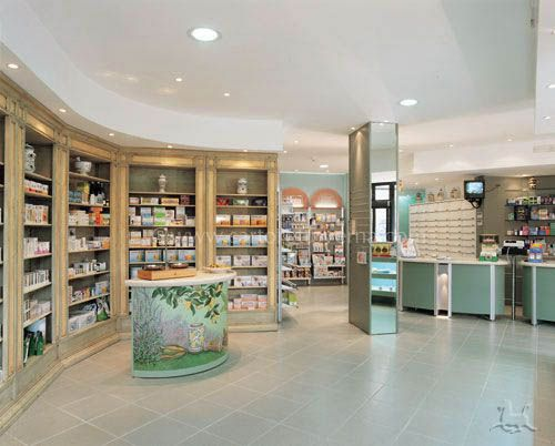 herbal+shop+display+ideas | ... complementary therapies sector ...
