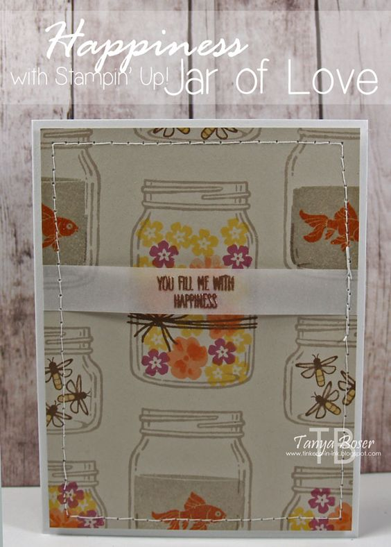 Tinkerin In Ink with Tanya: Stamp Review Crew: Jar of Love Edition