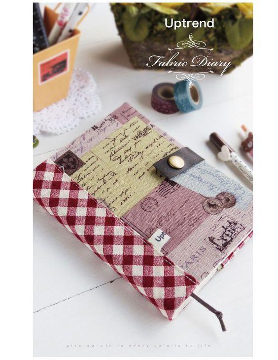 博客來-Uptrend Fabric Diary 布手帳-In Paris /布洛涅森林