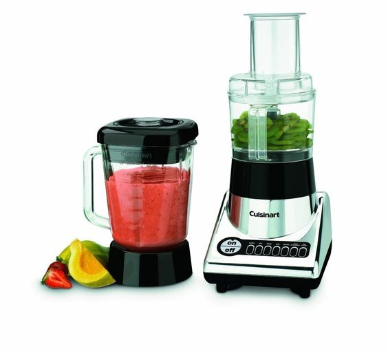 The Cuisinart Food Processor is my favorite small kitchen appliance. From grating veggies to shredding cheese to making dips and pie dough, this easy-to-use product can do a ton.