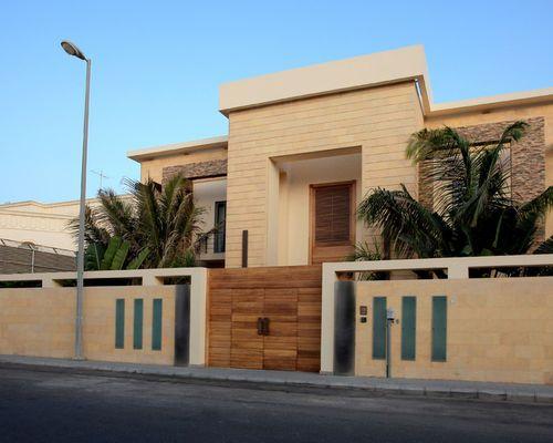 Exterior Boundary Wall Designs Extraordinary Houzz Home Design