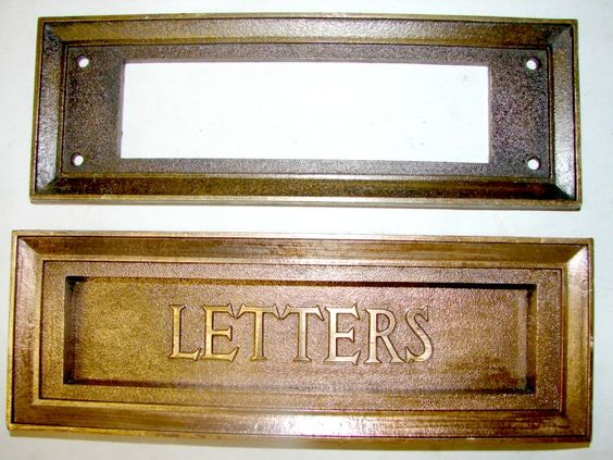 Antique Restoration Hardware  Mail Slot. Antique Restoration Hardware  Mail Slot   mudroom   Pinterest