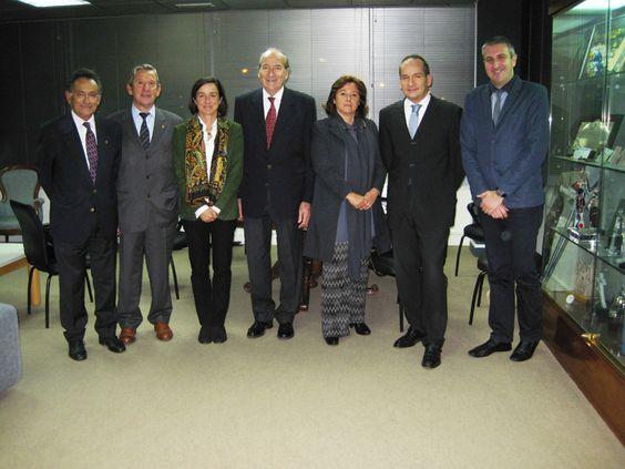 Reunión del Comité Español Pierre de Coubertin