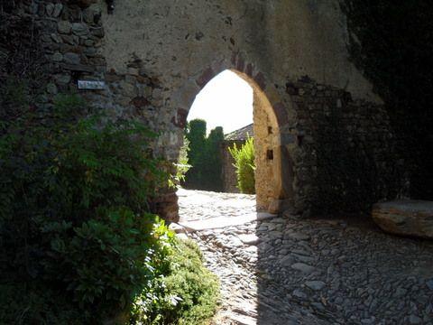 Eingang zum Schloß Auer in Dorf Tirol