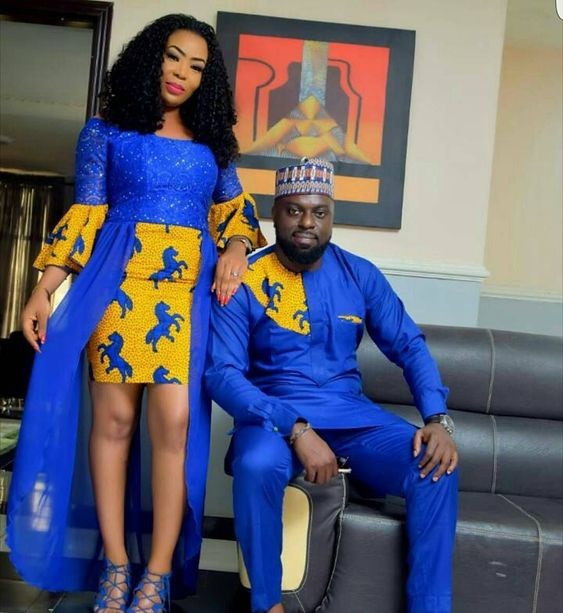 Ankara styles for couples 2018 Latest African Styles COUPLES ROCKING ANKARA PRINT