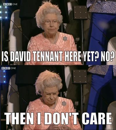 Even the Queen wanted Tennant to light the Olympic Flame.