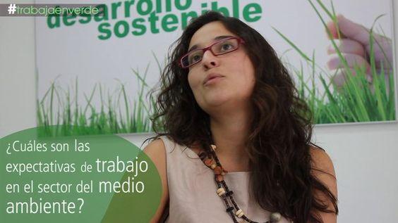 """#trabajaenverde: entrevista a María Álvarez, coordinadora de programas ISM. """"Las expectativas del empleo verde son buenas""""."""