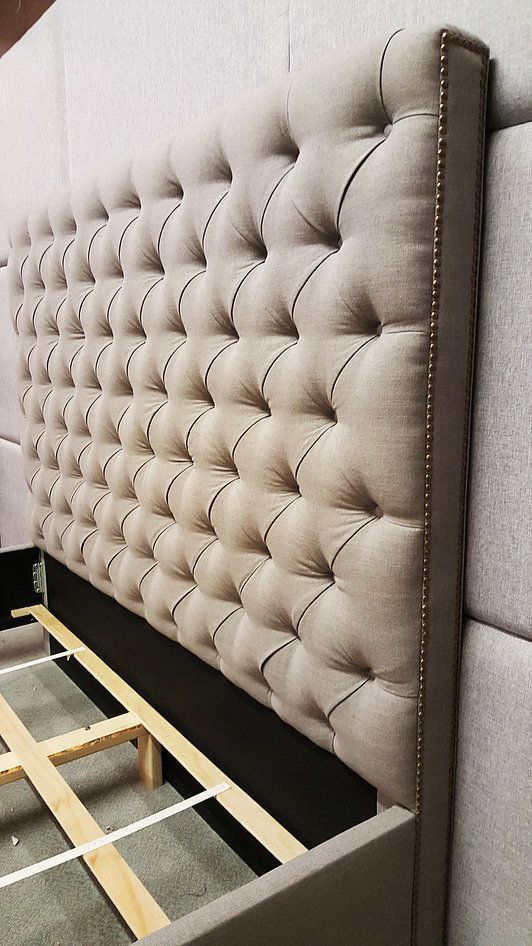 Custom Headboards Beds Wall Panels Tall Tufted Modern Classic