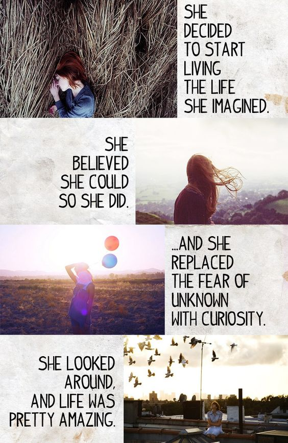 keywords: she decided to start
