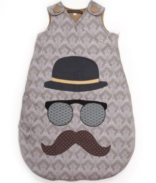 gigoteuse mr moustache couture pinterest b b et moustache. Black Bedroom Furniture Sets. Home Design Ideas