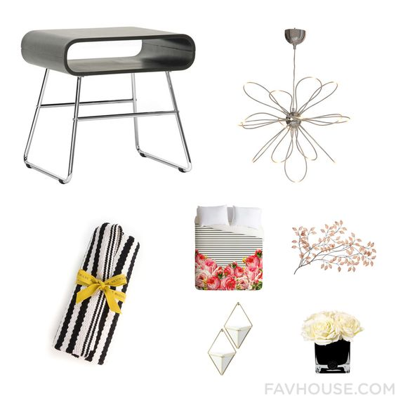 Homeware Collection Featuring Dot & Bo Accent Table Tube Light Mackenzie-Childs Rug And Deny Design From April 2016 #home #decor