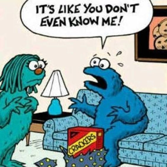 Cookie monster mishaps