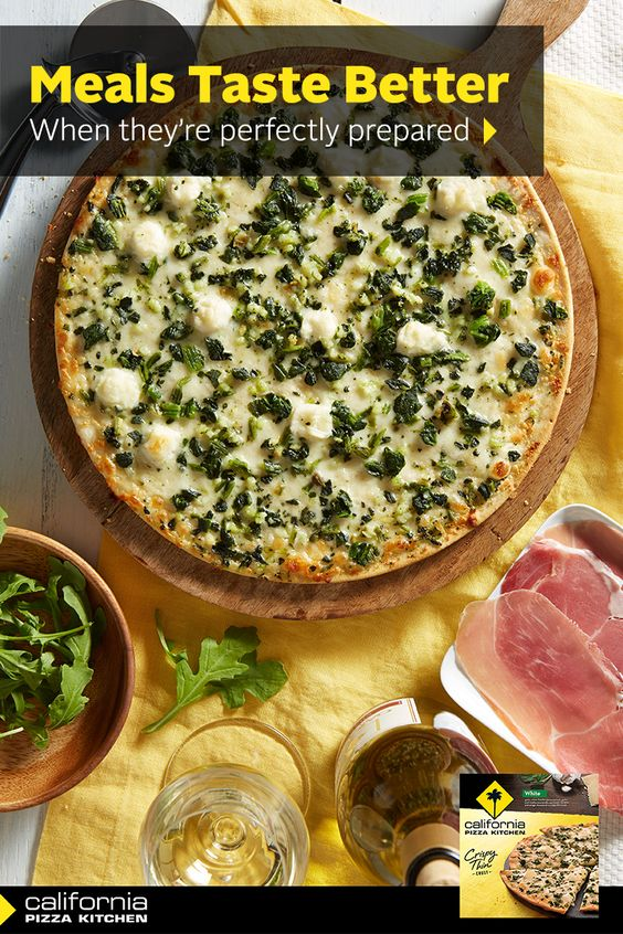 Take our White Crispy Thin Crust Pizza to the next level by adding truffle oil, prosciutto and fresh arugula to make a meal that will be on repeat each week.