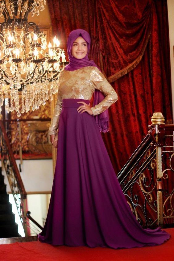 Pınar Şems - Hayal Fuşya Abiye