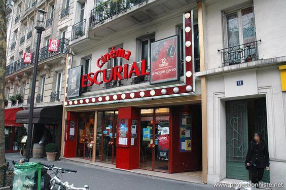 Cinema Escurial, Paris, France.