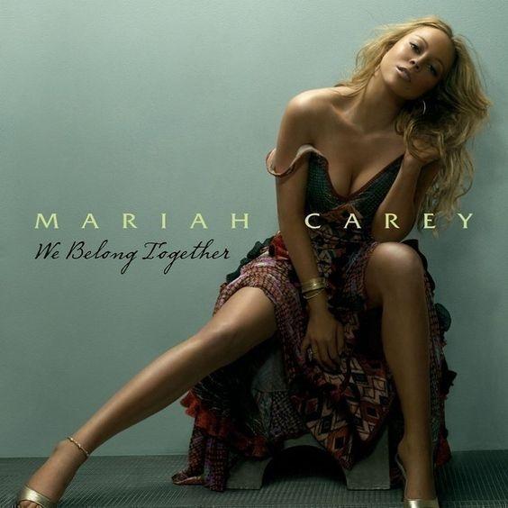 Mariah Carey – We Belong Together (single cover art)